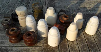Telegraph pole swag